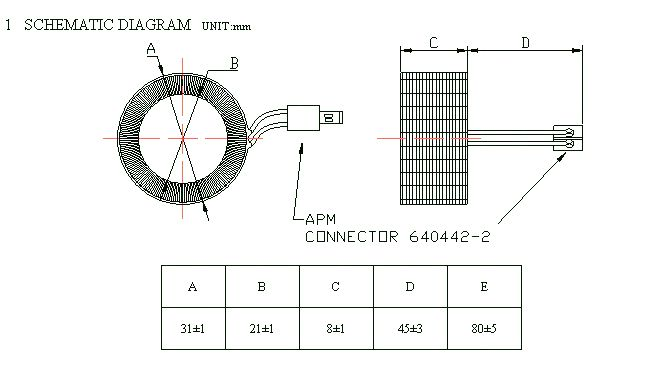 high accuracy current transformer